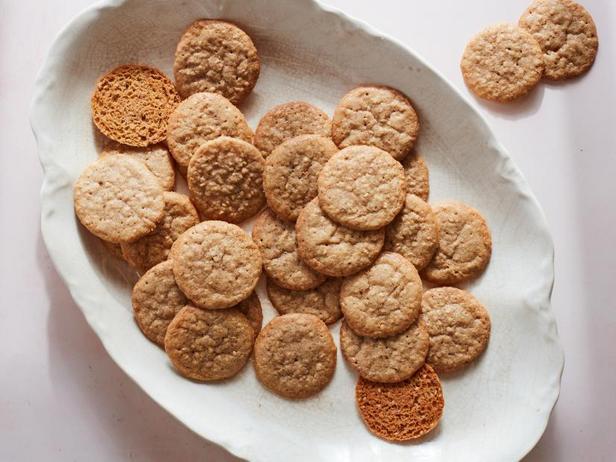 Фото Хрустящее печенье с семенами кунжута, Benne Wafers