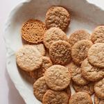 Хрустящее печенье с семенами кунжута, Benne Wafers
